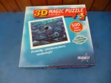 Puzzle 3D 500 piese aproape nou