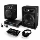 "Cumpara ieftin Electronic-Star Sistem PA ""Basstigall"" Set cutii amplificator Microfoane"