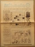 Mihaela - gazeta pentru toti copiii - 1990 - nr. 4 - ilustratii Nell Cobar - BD