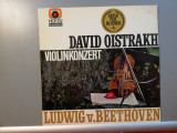 David Oistrach – Violin Concerto – Beethoven (1970/Emi/RFG) - VINIL/Impecabil, emi records