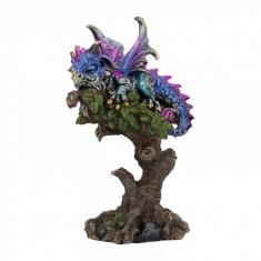 Statueta dragon Visatorul din copac 15 cm