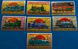 Cumpara ieftin Guineea Ecuatoriala, Locomotive, serie mnh
