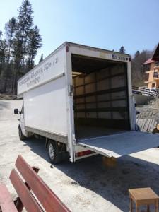 Mercedes Sprinter pt trasnporto marfa