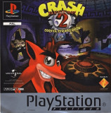 CRASH BANDICOOT 2 - Cortex Strikes Back PLATINUM  - PS1 [Second hand] fc, Single player, Actiune, 12+
