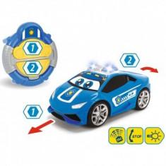 Masina copii 2+ ani Happy Police Lamborghini Huracan cu telecomanda