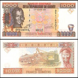 Guinea 1998 - 1000 francs UNC