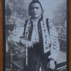 Foto pe carton ; inceput de secol 20 , Campulung Moldovenesc , Vatra Dornei