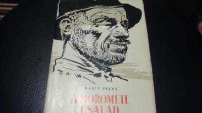 Marin Preda - Morometii - 1961 - ilustratii Perahim - in maghiara foto
