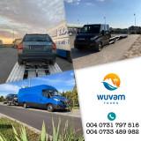 Servicii profesionale de transport persoane, colete și mașini pe platformă