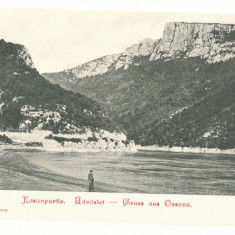 3922 - ORSOVA, Danube Kazan, Litho, Romania - old postcard - unused