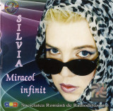 CD Silvia Dumitrescu – Miracol Infinit, original, holograma, autograf