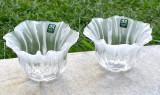 Cumpara ieftin Doua vase din cristal MALERAS SWEDEN FULL LEAD, design Mats Jonasson