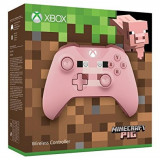 Controller Wireless MICROSOFT Xbox One S Minecraft Pig Edition