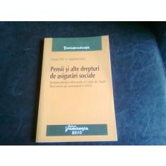 PENSII SI ALTE DREPTURI DE ASIGURARI SOCIALE - DRAGOS CALIN