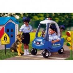 Little Tikes - Masina politie cu sirena si girofar (albastra)