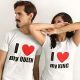 Cumpara ieftin Pachet pentru cuplu I love my Queen/ I love my King P02