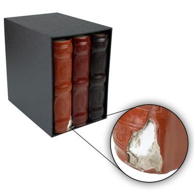 Set 3 albume format 10x15, 600 poze, piele ecologica, Resigilat foto