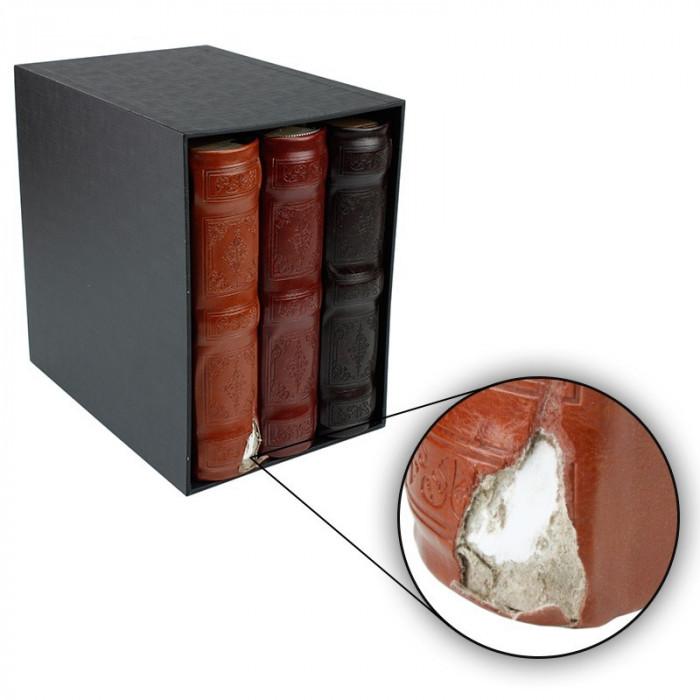 Set 3 albume format 10x15, 600 poze, piele ecologica, Resigilat
