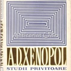 A. D. Xenopol. Studii Privitoare La Viata Si Opera Sa - L. Boicu, Al. Zub