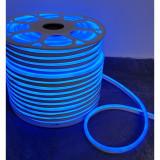 Rola Neon Flex Albastru Furtun Luminos LED 100 m Albastru / Instalatie de craciun