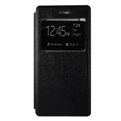 Husa Sony Xperia Z5 Compact - Book Type Black foto