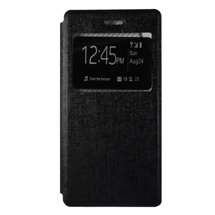 Husa Sony Xperia Z5 Compact - Book Type Black