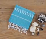 Prosop de plaja Sultan Turquoise 100x180 cm