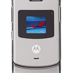Telefon Motorola V3 Argintiu Cu Toate Accesoriile Originale