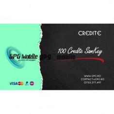 100 Credite SamKey, cont existent - decodare directa Samsung prin cablu
