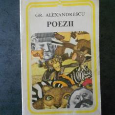 GR. ALEXANDRESCU - POEZII