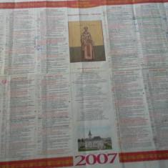 CALENDAR CRESTIN ORTODOX 2007
