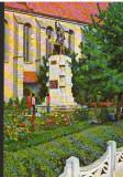 CPI B13350 CARTE POSTALA - BISTRITA. STATUIA LUI ANDREI MURESAN DE C. MEDREA