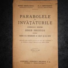 IRINEU MIHALCESCU - PARABOLELE SI INVATATURILE DOMNULUI NOSTRU IISUS HRISTOS
