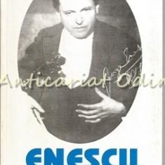 Enescu. Contributii Documentare Reconstituiri, Interpretari - Valeriu Rapeanu