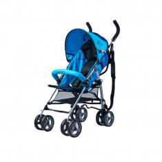Carucior sport compact pentru copii Caretero Alfa CSCA15-A1, Albastru