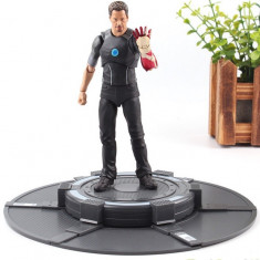Figurina IRON MAN 14,5cm, artiulatii mobile, figurina Tony Stark, Marvel