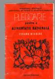 C8436 PLEDOARIE PENTRU O ALIMENTATIE RATIONALA DE FERARU NICOLAE