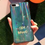 Husa Telefon Pentru iPhone, Verde Smarald,Moderna