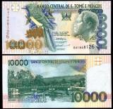 = SAINT THOMAS AND PRINCE –10 000 –DOBRAS–1996 –UNC =