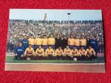 Foto - carte postala fotbal - Echipa Nationala a Romaniei (anii `60)