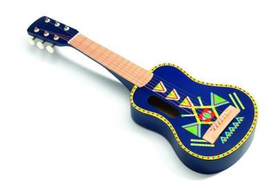 Chitara din lemn Djeco foto