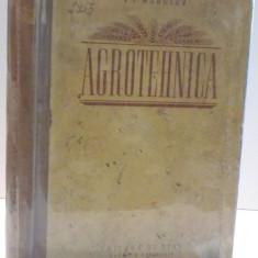 AGROTEHNICA de V.P. MOSOLOV , 1952