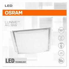 Plafoniera Led Osram, Lunive Arc, 19W, lumina neutra(4000K),