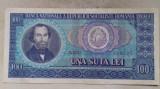 BANCNOTA 100 LEI 1966-ROMANIA (A.0143)