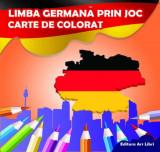 Limba germană prin joc. Carte de colorat