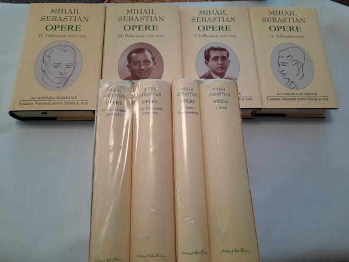Mihail SEBASTIAN - OPERE COMPLETE  8 VOL, SERIE COMPLETA  EDITIE LUX