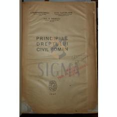 Principiile dreptului civil roman - I. Rosetti Balanescu, Ovid Sachelarie
