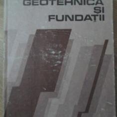 GEOTEHNICA SI FUNDATII - C. ATHANASIU, P. RAILEANU, A. STANCIU SI COLAB.