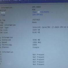 procesor Intel Core i7 2600  3.40 ghz  , SR00B , socket  1155 , functional