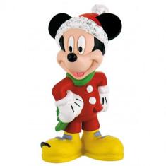 Figurina Mickey Mouse Craciun
